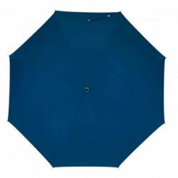 Üvegszálas alumínium esernyő, kék/ezüst