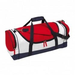 Marina sporttáska, kék/piros/fehér