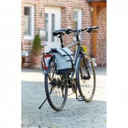 62416f3a166a Méret: kb. 34 x 14 x 38-50 cm; Szín: szürke, fekete; Anyag: 600D  Poliészter. BIKE MATE kerékpáros táska